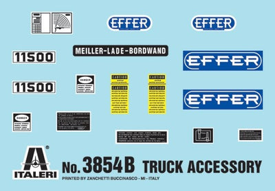 Italeri 1/24 Truck Accessories-set II Kit