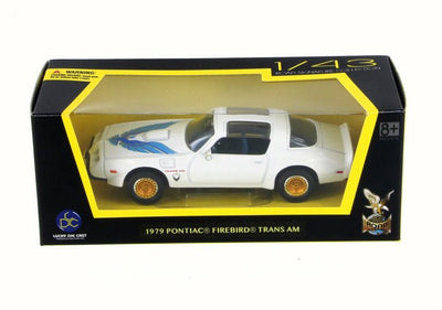 Lucky 1/43 1979 Pontiac Firebird Trans Am (White) Road Signature Collection