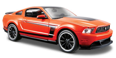 Maisto 1/24 Ford Mustang Boss 302 (Orange) Special Edition MA31269