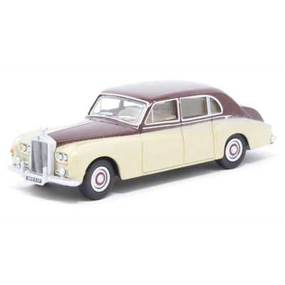 Oxford 1/76 Rolls Royce Phantom V (Burgundy & Silver Sand)