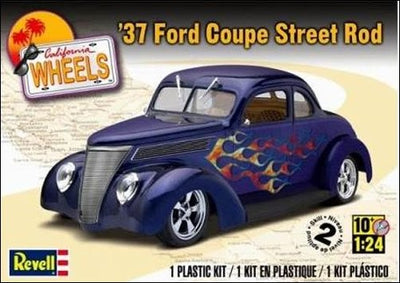 Revell 1/24 '37 Ford Coupe Street Rod Kit 95-85-4097