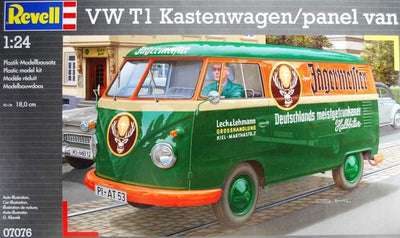 Revell 1/24 VW T1 Kastenwagen w/ panel van Kit 95-07076
