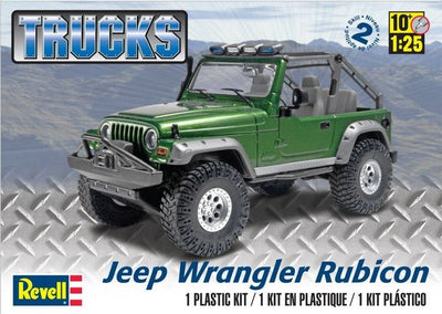 Revell 1/25 Jeep Wrangler Rubicon Kit 95-85-4053