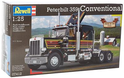 Revell 1/25 Peterbilt 359 Conventional Kit 95-07412