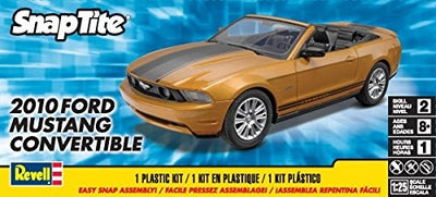 "Revell 1/25 ""Snap Tite"" 2010 Ford Mustang convertible Kit 95-85-1963"