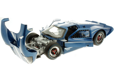 Shelby 1/18 1967 Ford MK IV (Blue)