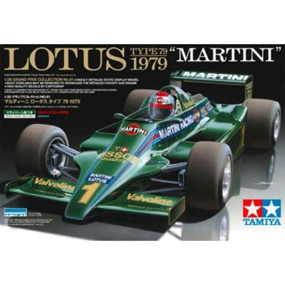 "Tamiya 1/20 Lotus Type 79 1979 ""Martini"" Kit TA-20061"