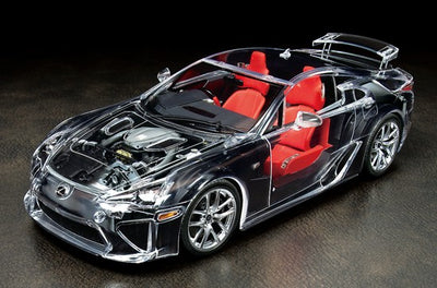 Tamiya 1/24 Full-View Lexus LFA (Transparent) Kit TA-24325