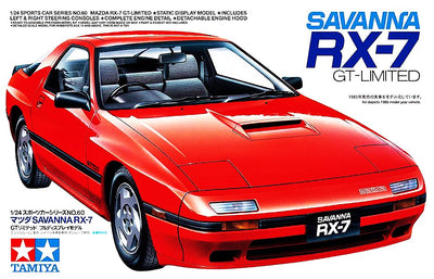 Tamiya 1/24 Savanna RX-7 GT-Limited Kit