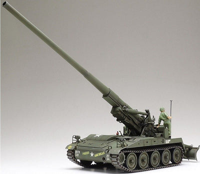 Tamiya 1/35 U.S. Self-Propelled Gun M107 (Vietnam War) kit TA-37021