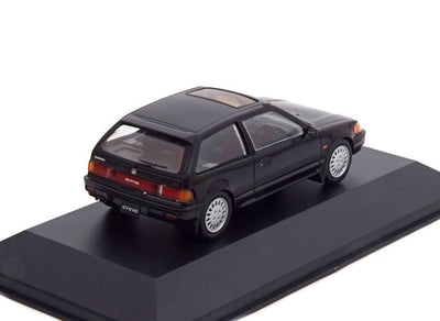 Triple 9 Collection 1/43 Honda Civic 1987 Black Model Car