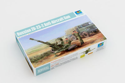 Trumpeter 1/35 Russian ZU-23-2 Anti-Aircraft Gun Kit TR-02348