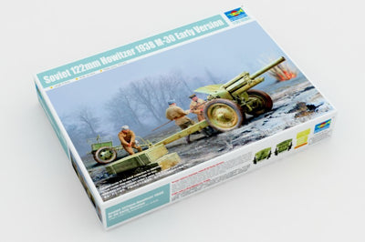 Trumpeter 1/35 Soviet 122mm Howitzer 1938 M-30 Early Version Kit TR-02343