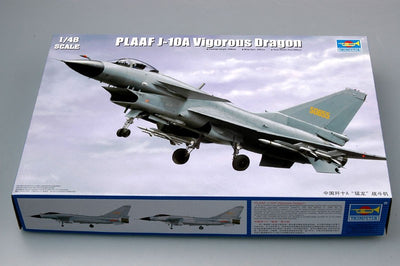 Trumpeter 1/48 PLAAF J-10A Vigorous Dragon Kit