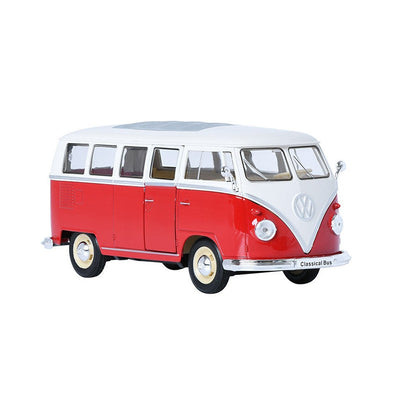 Welly 1/24 1963 Volkswagen T1 Bus (Red)