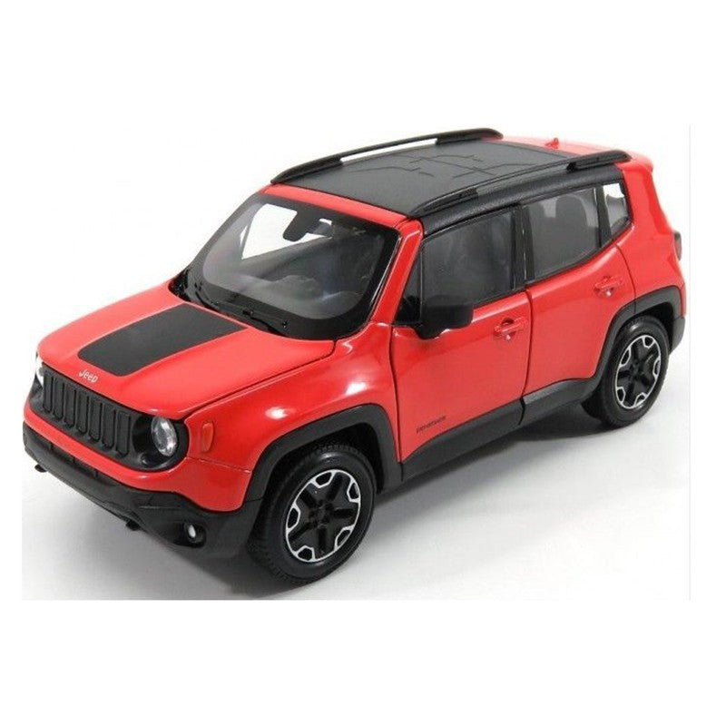Jeep Renegade Orange >> Welly 1 24 Jeep Renegade Trailhawk Orange