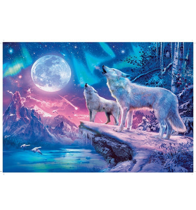 Wolf In Nordlicht Teilight Howl 100pcs Puzzle