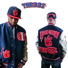"THR33Z BOSTON AKA ""BEAN-TOWN"" JACKET"