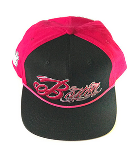 THR33Z BOSTON SNAPBACK (PINK)