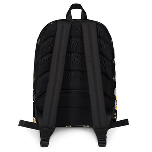THR33Z CLOTHING BLACK & YELLOW 3ZUP BACK PACK