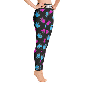 THR33Z MIAM VICE YOGA LEGGINGS