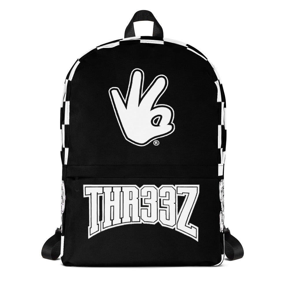 THR33Z CHECKERBOARD Backpack