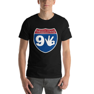 THR33Z INTERSTATE 93 Short-Sleeve Unisex T-Shirt