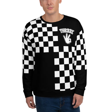 THR33Z CHECKERBOARD Unisex Sweatshirt