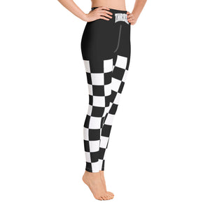 THR33Z CHECKERBOARD Yoga Leggings