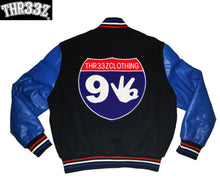 THR33Z INTERSTATE 93 VARSITY JACKET (MONEY-ROUTE)