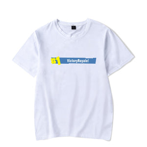 #1 Victory Royal White Tee