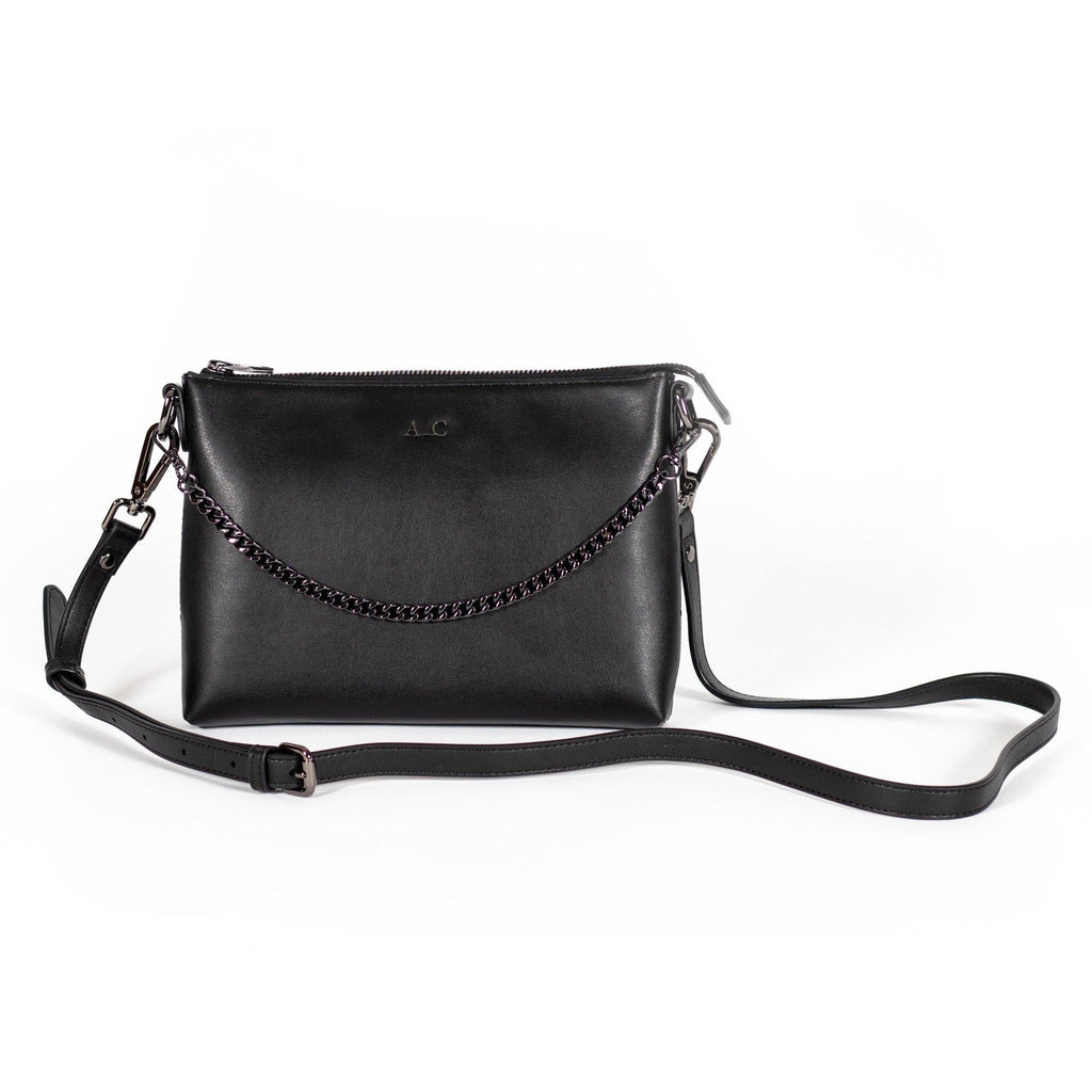 Peta Pouch - Cactus Leather Black