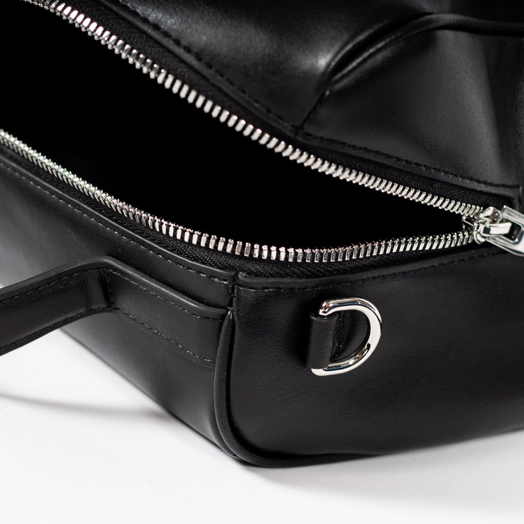 Florence Doctor Bag - Cactus Leather Black