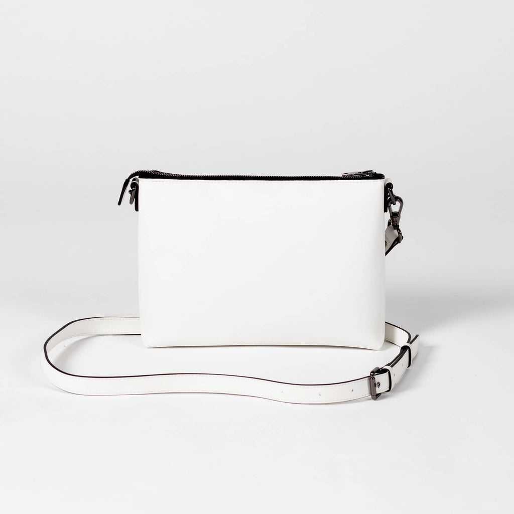Peta Pouch - Cactus Leather White - A_C Official