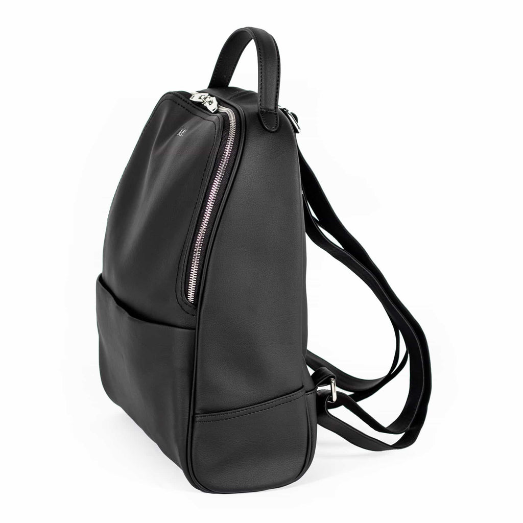 Darcy Daypack - Cactus Leather Black