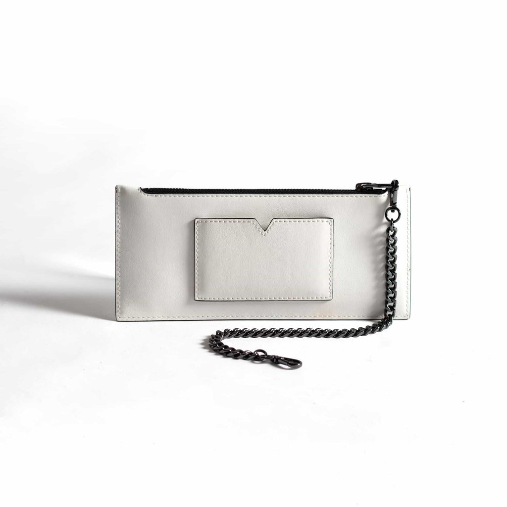 Heidi Slimline Wallet - Cactus Leather White - A_C Official