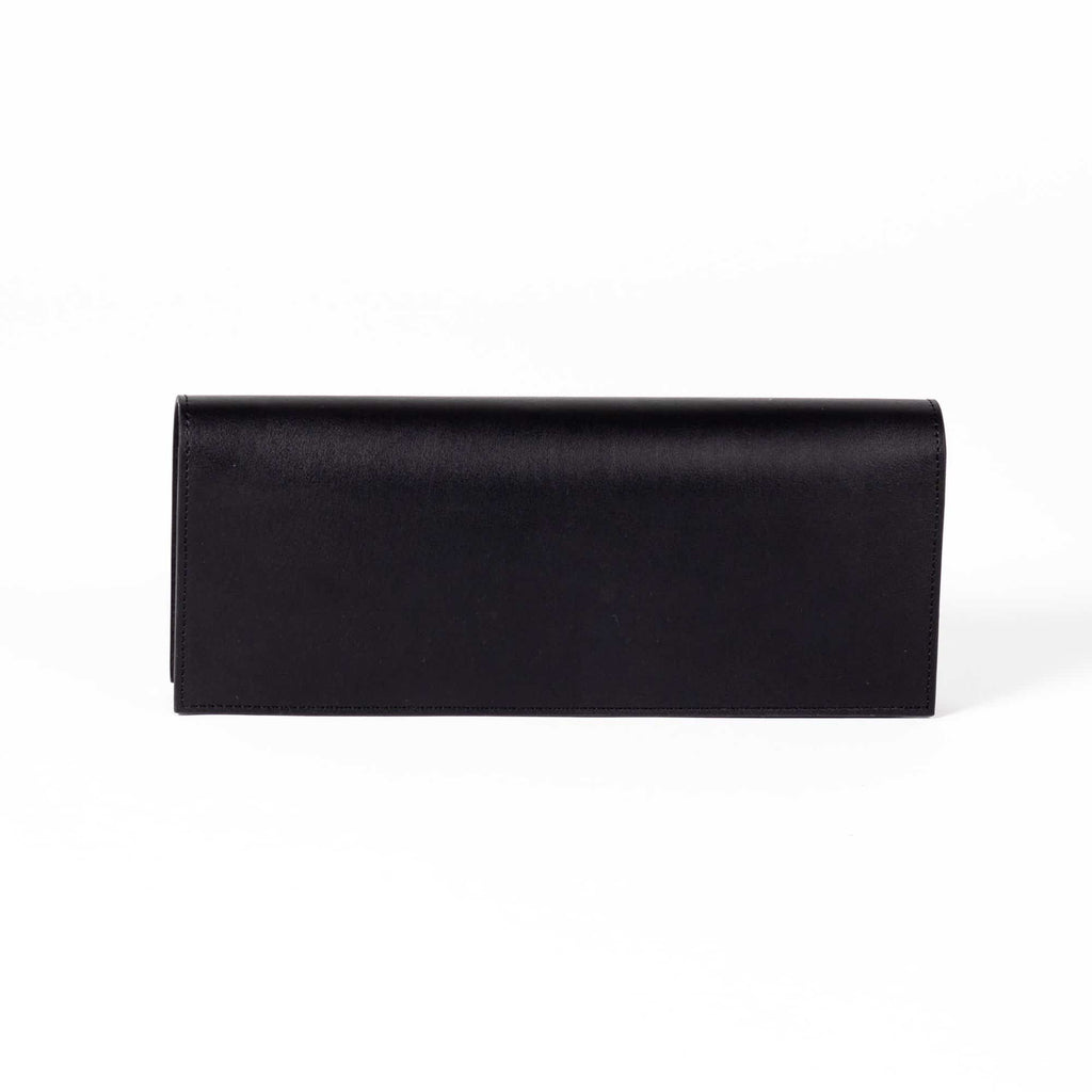 Monica Pencil Clutch - Cactus Leather Black - A_C Official