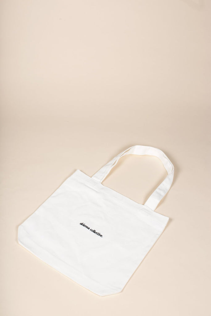 Ban the Bag Tote - White - A_C Official