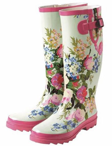 Limited Edition, Spring Floral Wellies