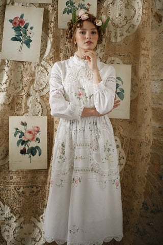 Queen Anne's Lace Dress