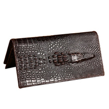 COWATHER Alligator Pattern Cow Leather Men's Wallet