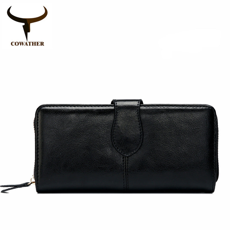 COWATHER Genuine Cow Leather Women Purse