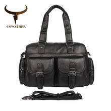 COWATHER Cow Genuine Shoulder Leather Bag