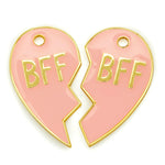 BFF's Tags Pink (set of 2)