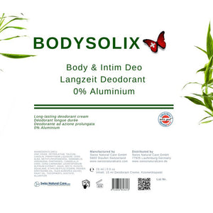 Body Deo Creme - Intim Deo - Bodysolix