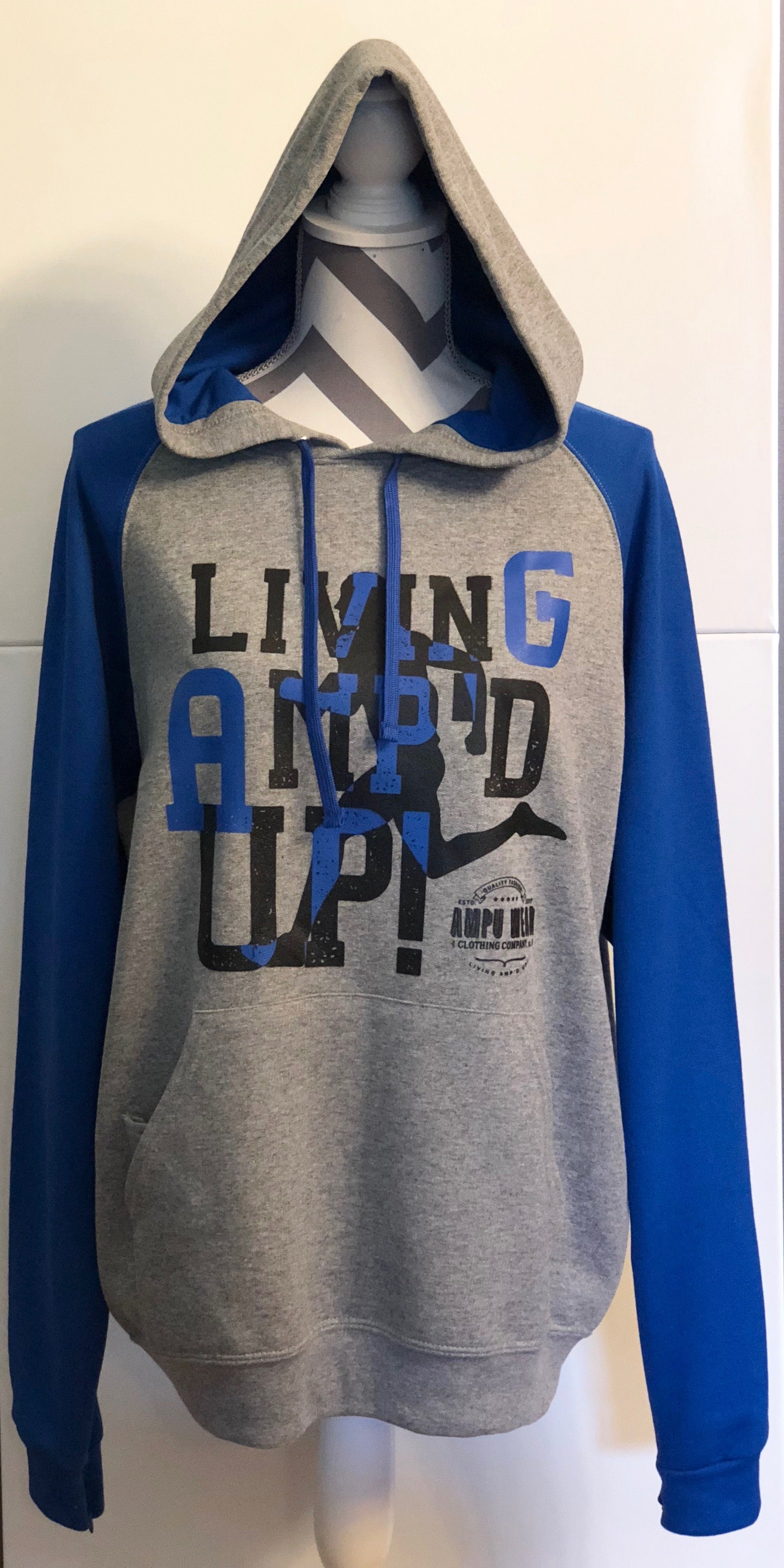 Blue - Living Amp'd Up! Limited Edition Hoodie