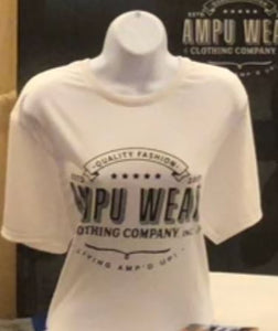 Ampu Wear Clothing White shirt