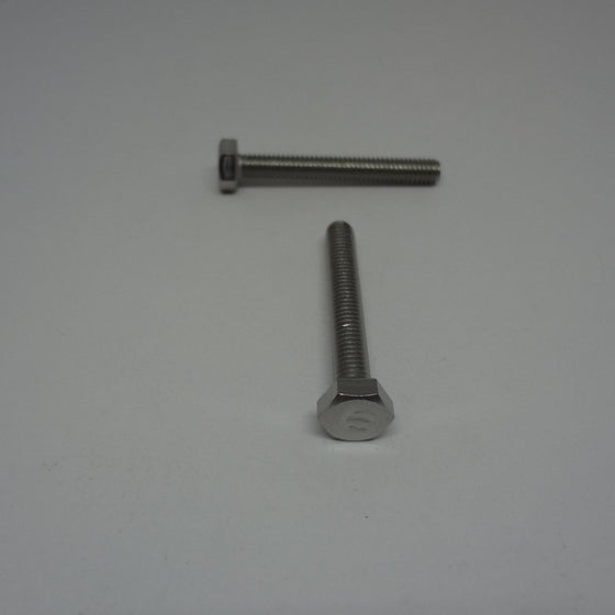 Hex Bolt, Full Thread, Stainless Steel, M4x30mm-Canada Bolts