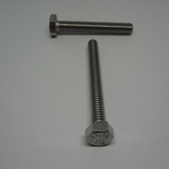 Hex Bolt, Full Thread, Stainless Steel, M8x60mm-Canada Bolts