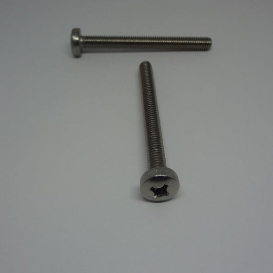 Machine Screws, Phillips Pan Head, Stainless Steel, M6x60mm-Canada Bolts